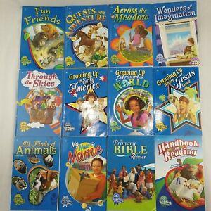 2 Abeka 2nd Grade Readers 11 Plus Handbook for Reading CURRENT Lot of 12 Set