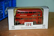 EFE 1:76 AEC RT BUS - LONDON TRANSPORT - BRYLCREEM ADS 11105