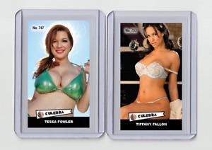 Tessa Fowler rare MH Culebra #'d 2/3 Tobacco card no. 747