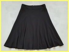 NWT THE LIMITED BLACK STRETCH JERSEY PANELED A-LINE WORK OFFICE SKIRT S 4 6