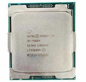 Intel Core i9-7960X CPU X-series Processor22M Cache, up to 4.20 GHz FCLGA2066