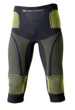 Abbiglimento sportivo da uomo aderenti neri di compressione
