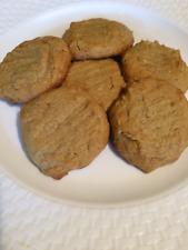 1 Dozen Bakery Style Homemade Peanut Butter Cookies * Sugar Or Sugar Free*