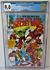 Marvel Super Heroes Secret Wars #1 (1984) Graded CGC 9.0!! MARVEL Comics