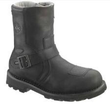 Zip Biker Boots Regular Shoes for Men
