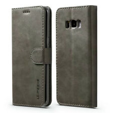 For Samsung Galaxy S9 Note8 S8 S7 Edge Leather Flip Case Cover Card Wallet Stand