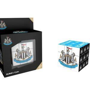 NEWCASTLE UNITED Rubik Cube Football Soccer Gift Toy Game Official Licensed