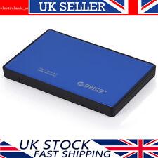 "Orico 2.5"" USB 3.0 to SATA lll External HDD/SSD Hard Drive Enclosure Caddy Case"