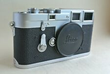 Leica M3  chrome camera body, double stroke with cap , 751+++,  excellent