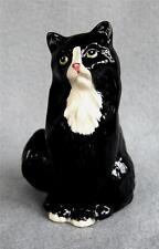 Royal Doulton Cat Figure ~ Black Persian Cat