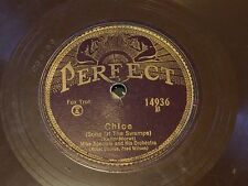 Mike Speciale - Hot Jazz Pre-War Brown Perfect 78- Chloe /Golden Gate