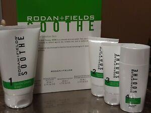 Rodan and + Fields SOOTH Regimen Kit for Sensitive Skin, New, Sealed, exp 7/2022