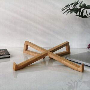 Wooden Laptop Stand, MacBook Stand