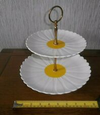 M&S Daisy two tier sandwich / cake stand