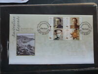 AUSTRALIA 2000 THE LAST ANZACS BLK 4 STAMPS FDC FIRST DAY COVER