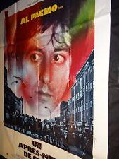 UN APRES MIDI DE CHIEN al pacino sidney lumet  affiche cinema 1978