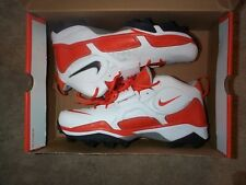 TEAM ISSUED Syracuse Orange Football GAME Jersey Cleats NIKE Zoom Code Pro Shark