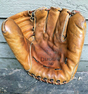 Vintage Dubow Model 747 Carl Furillo Baseball Glove