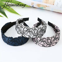 Women Girls Wide Headband Vintage Alice Band Headband Hair Accessories
