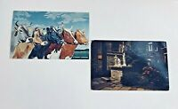 St Brigids Church & Dairy Cattle Vintage Post Card Set Of 2 Meadville PA