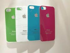 N°4 Cover rigide, vari colori per iPhone 5 5/s complete di pellicola trasparente