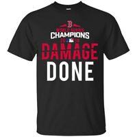 Damage Done T-Shirt Boston Red Sox World Series Champions 2018 Tee Shirt S-5XL