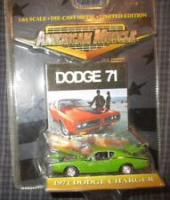 Ertl American Muscle 1971 71 Green Dodge Charger R/T 440 Muscle Car 1:64