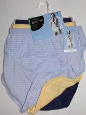 3 Jockey Hi Cut Brief Panty Set Comfies Stretch Cotton Seamfree Classic Fit 8 XL