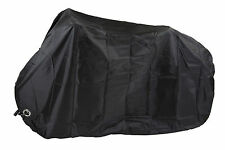 Waterproof Bicycle Cover - Superior 150D Oxford Material - Black -by Plum Design