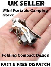 Mini Portable Pocket Camping Gas Stove Outdoor Cooking Folding Burner Picnic