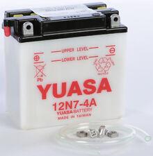 YUASA BATTERY 12N7-4A YUAM2274A MC Suzuki
