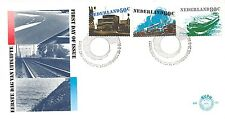 E186 First Day Cover Netherlands 1980 Verkeer (1204-1206)