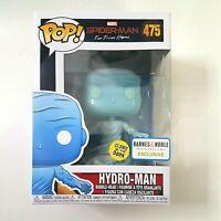 Funko Pop HYDRO-MAN 475 Marvel Spider-Man Barnes & Noble EXCLUSIVE Glows GITD
