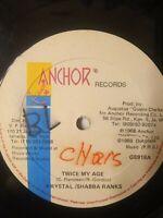 "Krystal  & Shabba Ranks – Twice My Age 12"" Vinyl Single 1988"
