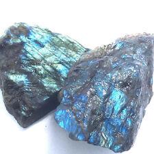 100g Top Labradorite Crystal Stone Natural Rough Mineral Specimen Healing Chakra