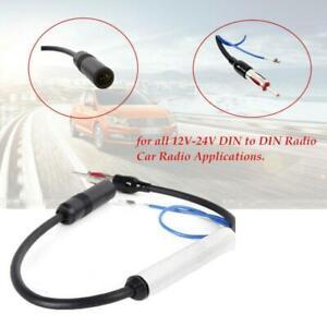 12V Inline AM&FM Reception Car Antenna Radio Signal  Amplifier Booster Wire