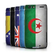 STUFF4 Back Case/Cover/Skin for Motorola RAZR XT910/Flags