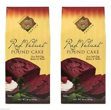 Plentiful Pantry Red Velvet Pound Cake Mix 2 Pack Holiday Party Great Gift