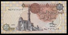 World Paper Money - Egypt 1 Pound ND 1986 P50d Sign 18 @ XF+