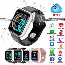 Waterproof Touch Smart Watch Women Men Sport Fitness Tracker for iPhone Android