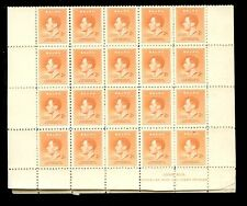 NAURU 1937 CORONATION 2d SG41 COMPLETE SHEET of 40 stamps UNUSED