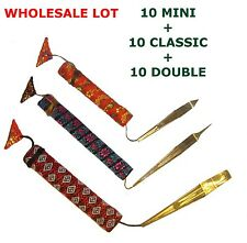 Wholesale lot of 30 Jaw/Jews/Mouth Harp Dan Moi: 10 Mini, 10 Classic, 10 Double