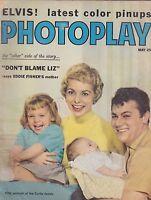 MAY 1959  PHOTOPLAY vintage movie magazine TONY CURTIS