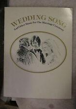 Wedding Song Sheet Music Irish Blessing Piano Guitar Chords Warner Bros 1978