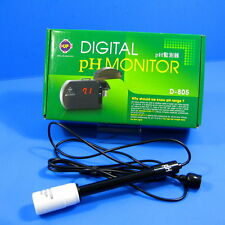 Aquarium Digital PH Tester Monitor w/Probe Electrode BNC Adapter Buffer Co2 Tank