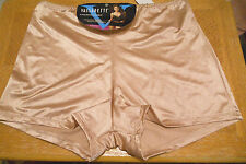 Vassarette Boyshorts Panties Sz 10 (3X)  NWT Beige
