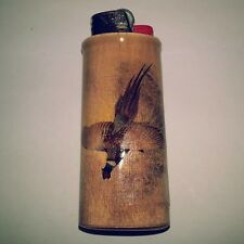 Pheasant Hunting Hunters Bic Lighter Case Holder Sleeve Cover