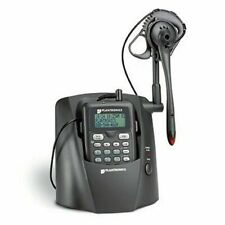 Plantronics CT12 2.4 GHz Cordless Headset Telephone With Caller ID