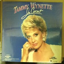 Tammy Wynette: In Concert (1986), Laserdisc, New in Plastic