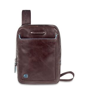 ORIGINAL PIQUADRO Bag BLU SQUARE Male Pocketbook Brown - CA3084B2-MO